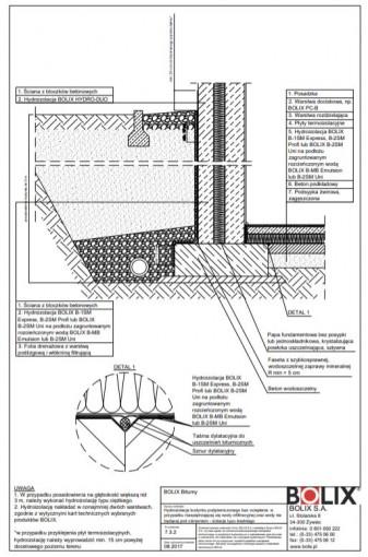 7.3.2 Hydroizolacja budynku podpiwniczonego bez ocieplenia - izolacja typu średniego
