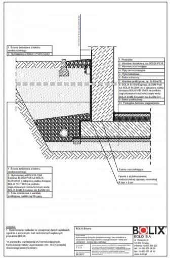 7.3.3 Hydroizolacja budynku podpiwniczonego bez ocieplenia - izolacja typu ciężkiego