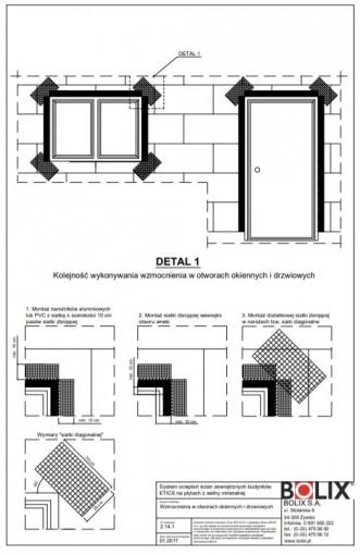 2.14.1 Wzmocnienia w otworach okiennych i drzwiowych