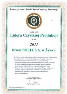 Tytuł Lidera Czystszej Produkcji