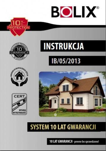 INSTRUKCJA BOLIX nr IB/05/2013