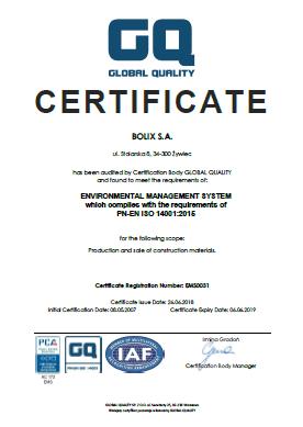 PN-EN ISO14001:2015