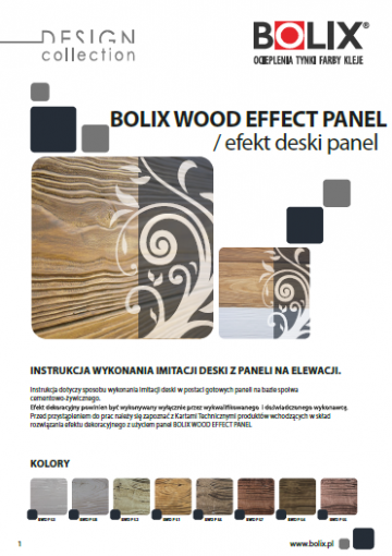 BOLIX DESIGN COLLECTION WOOD EFECT PANEL