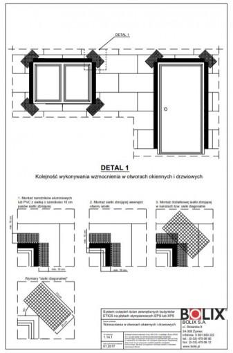 1.14.1 Wzmocnienia w otworach okiennych i drzwiowych